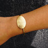 Scratched Golden Bracelet
