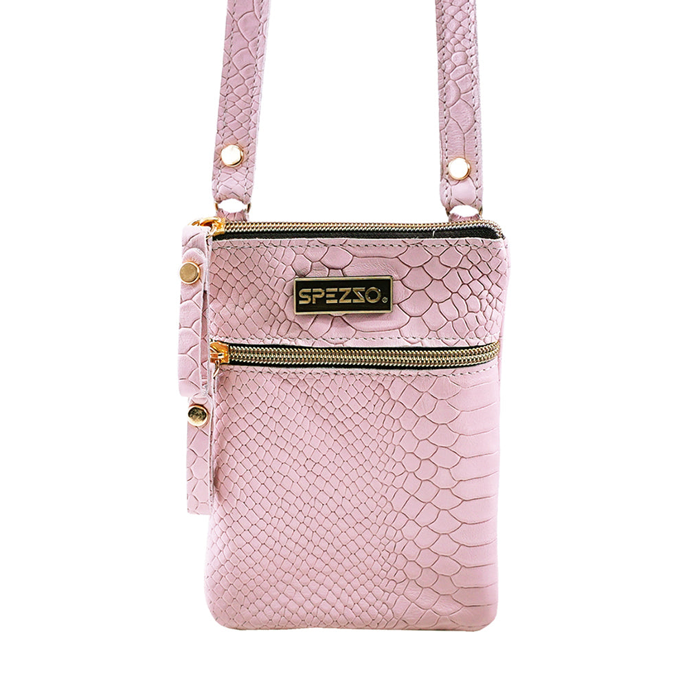 Light Pink Leather Purse