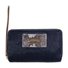 Black Fur Wallet