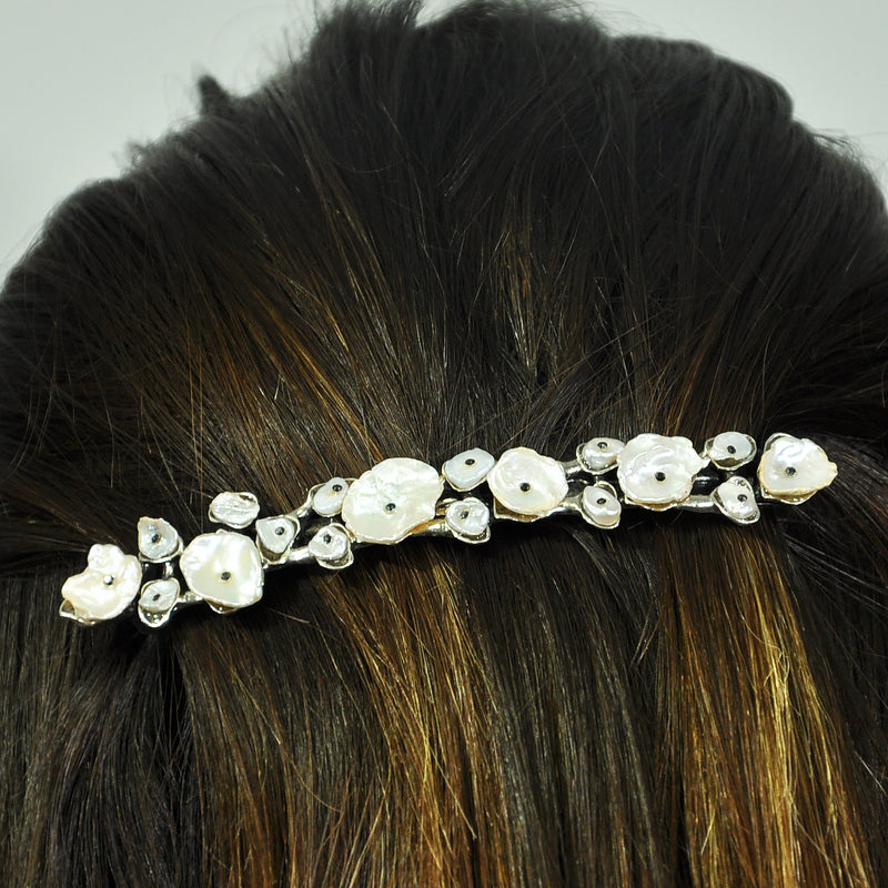 Mother of Pearl Hairclip