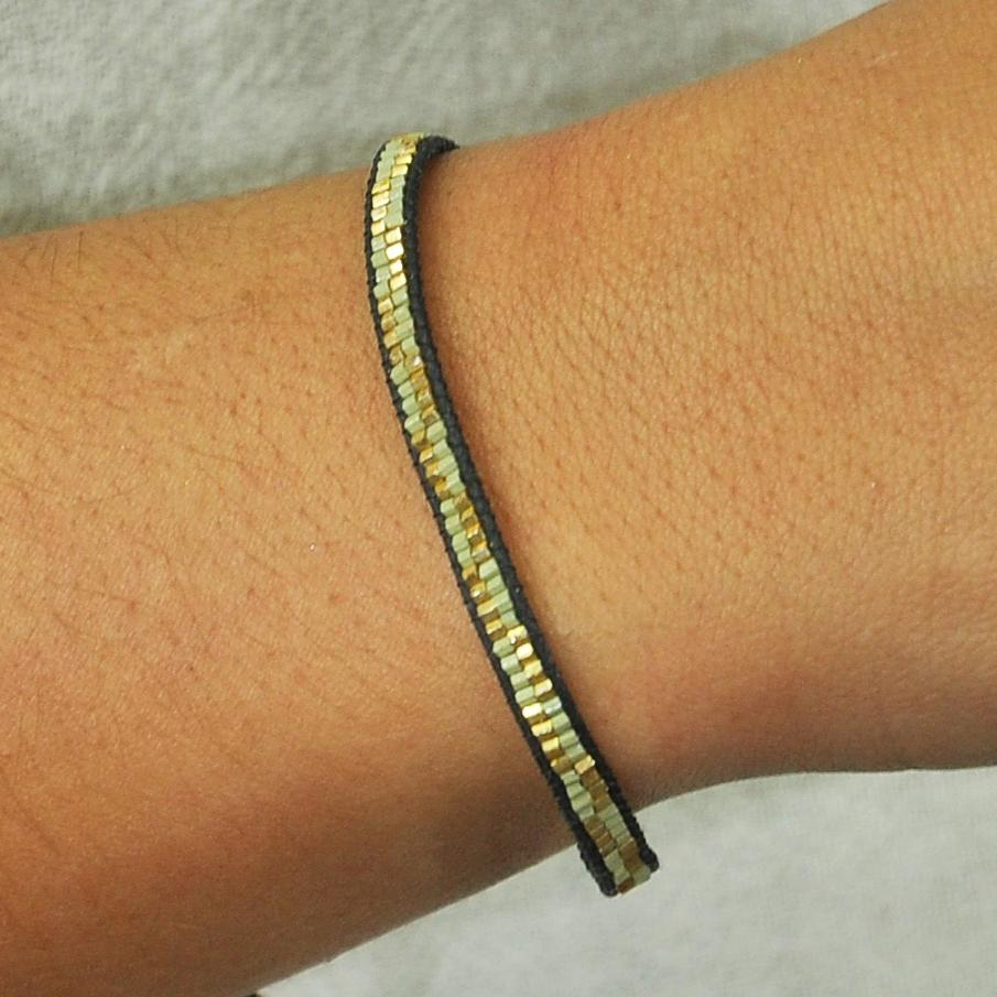 Golden & Green Bracelet