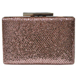 Pink Shining & Gold Clutch