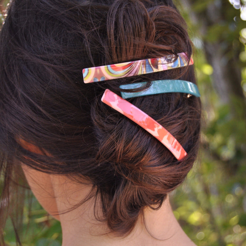 Pink & Red Hairclip