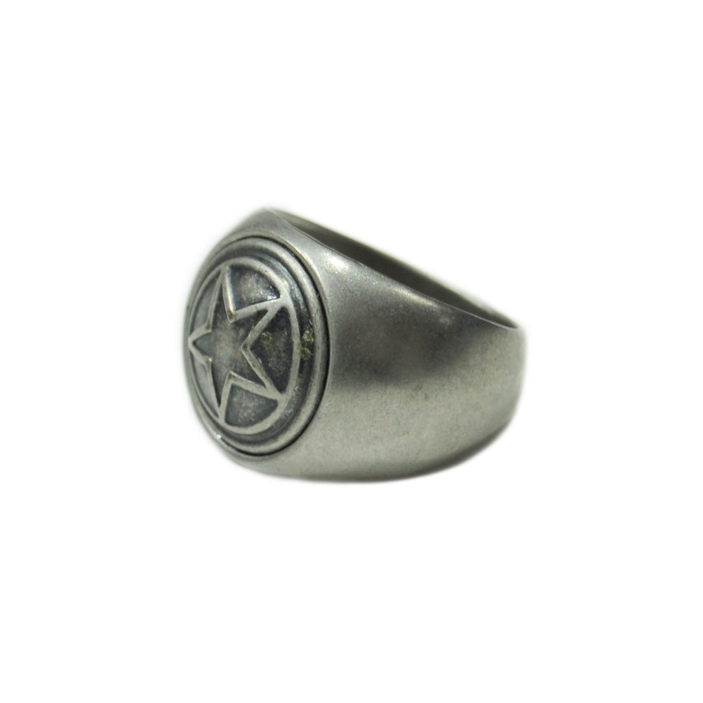 Silver Star Ring