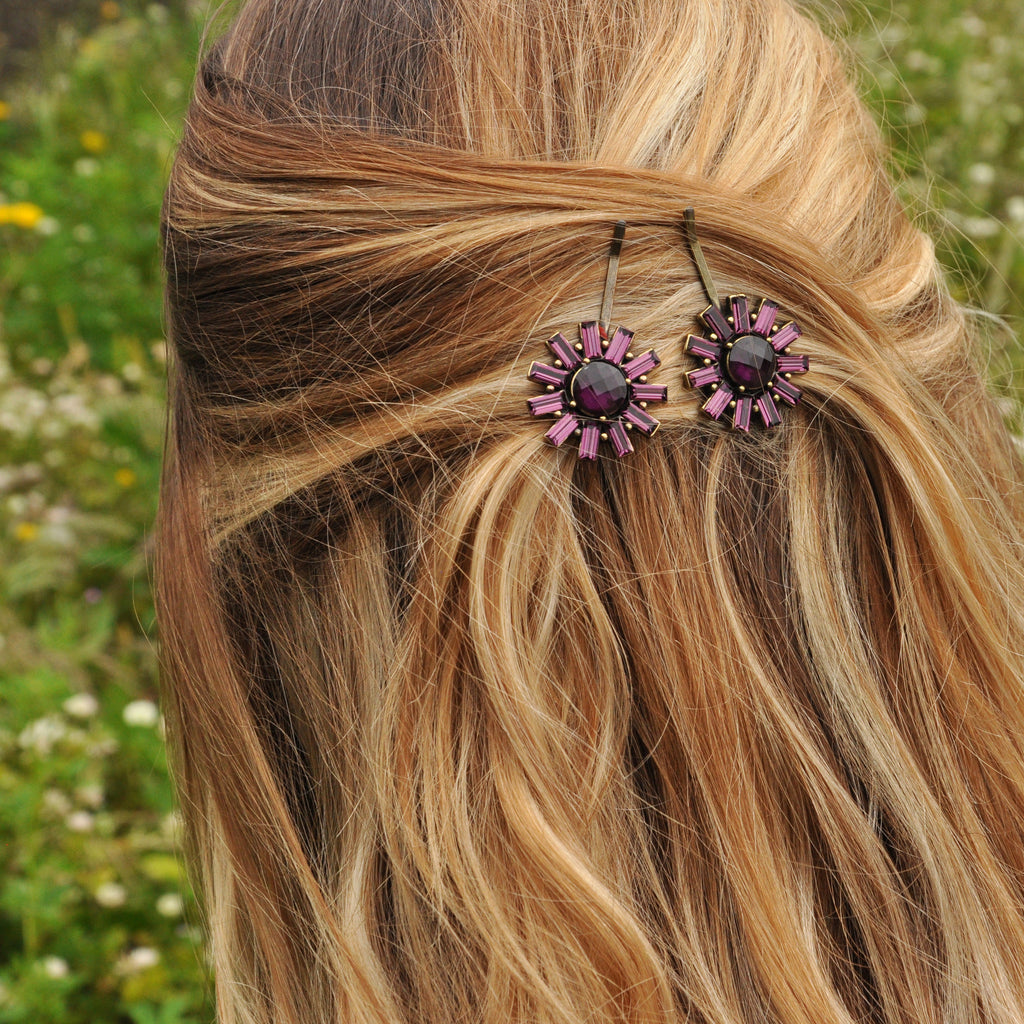Purple Hairclip