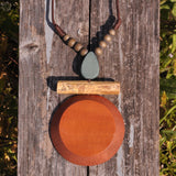 Multicolor Wood Necklace