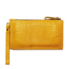 Yellow Leather Purse