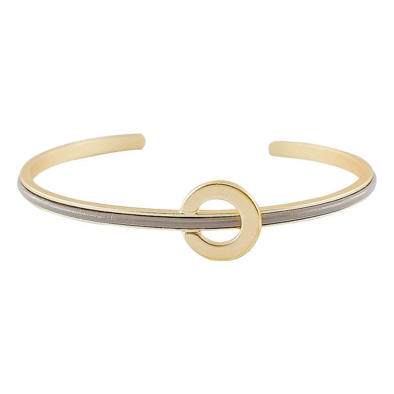 Golden Bracelet w/ Grey Detail