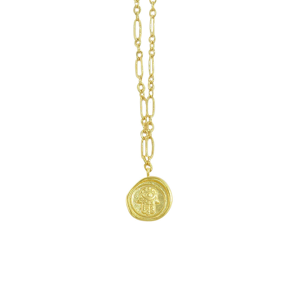 Golden Necklace w/ Pendant