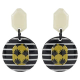 Black & White Pattern Earrings