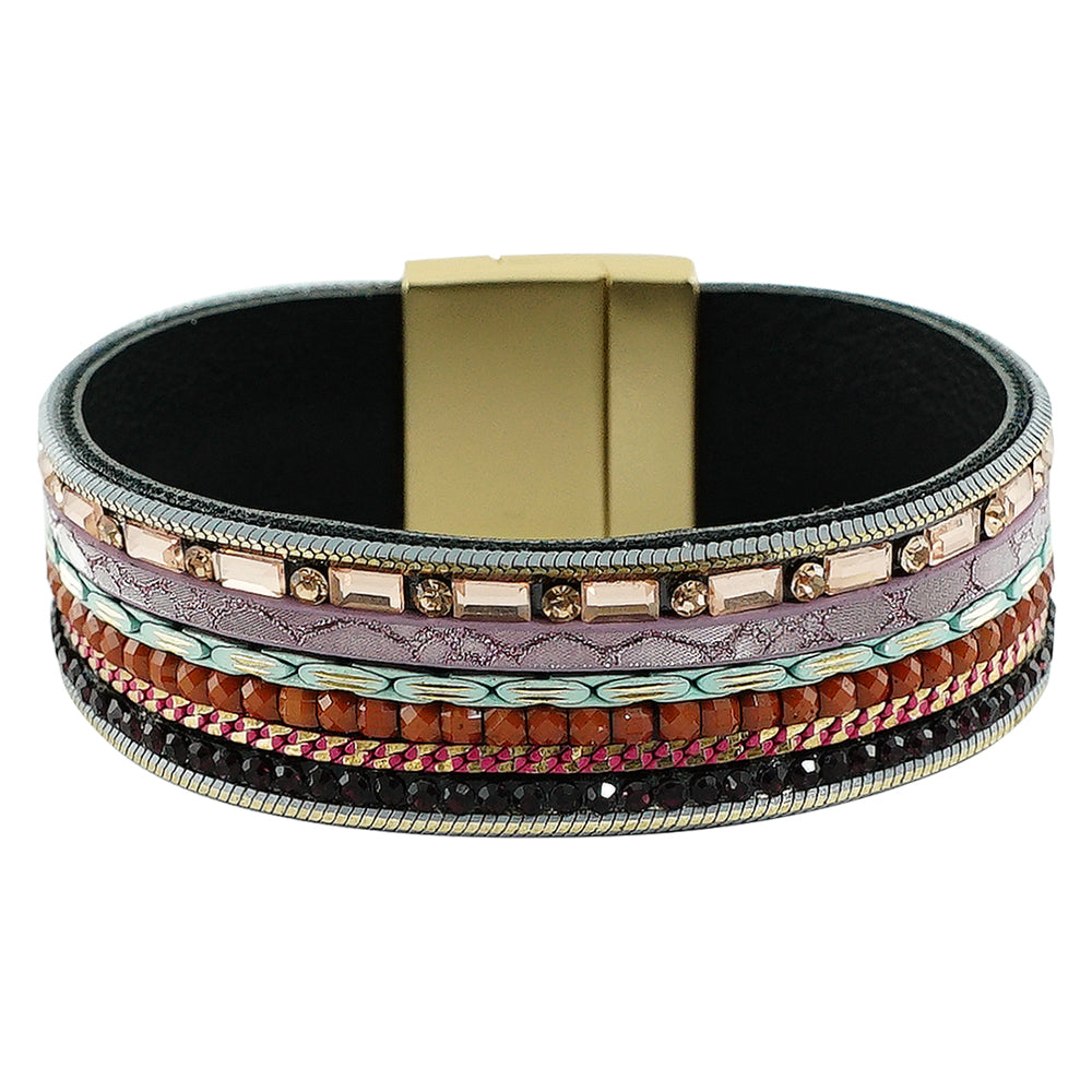 Golden Bracelet w/ Multicolored Details
