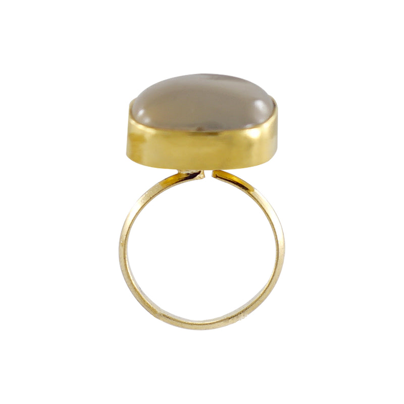 Golden Ring w/ Grey Stone