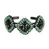 Green & Black Crystal Bracelet