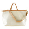 Brown & Cream Leather Bag