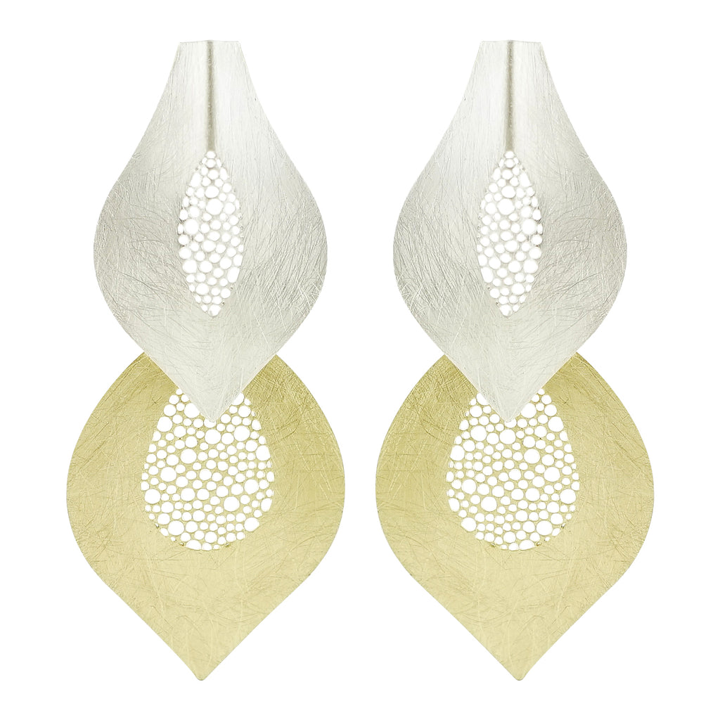 Golden & Silver Earrings