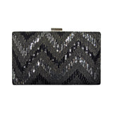 Black Clutch with SEQUINS
