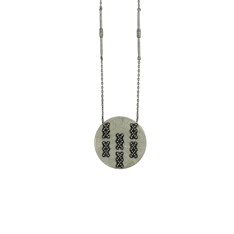 Silver Necklace w/ Pendant