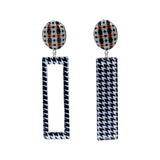 Geometric Patterned Earrings