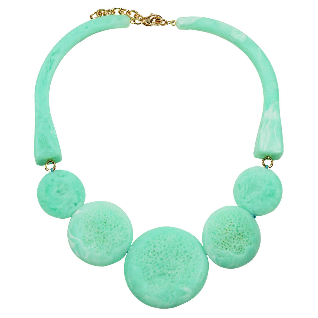 Cyan Necklace