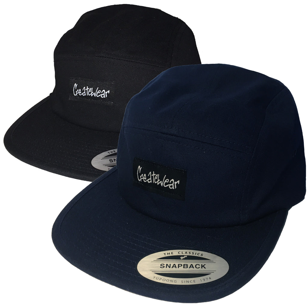 Createwear 5-Panel Patch Hat