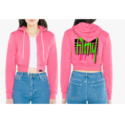 Filthy Cropped Hooded Fleece