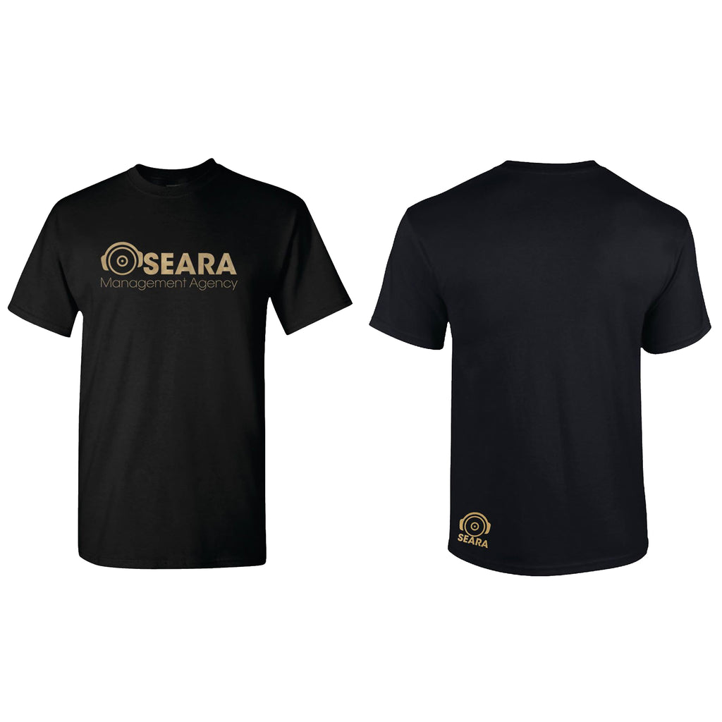 Gold Headphones T by Seara Management
