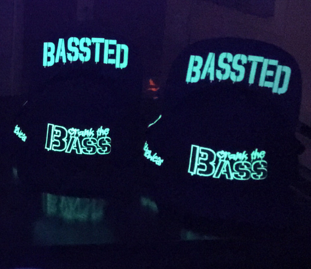 Bassted Snapback (Glow in the Dark)