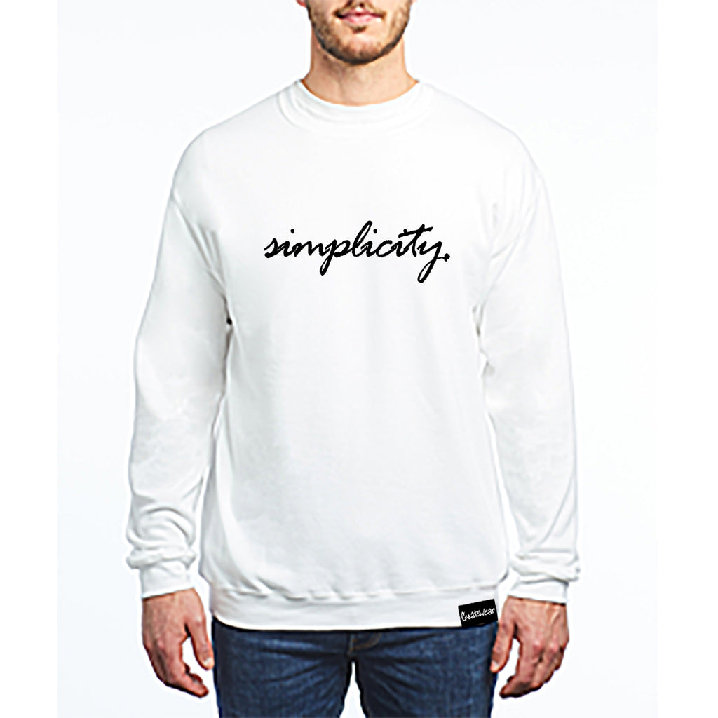 Create Simplicity Unisex Crewneck Fleece