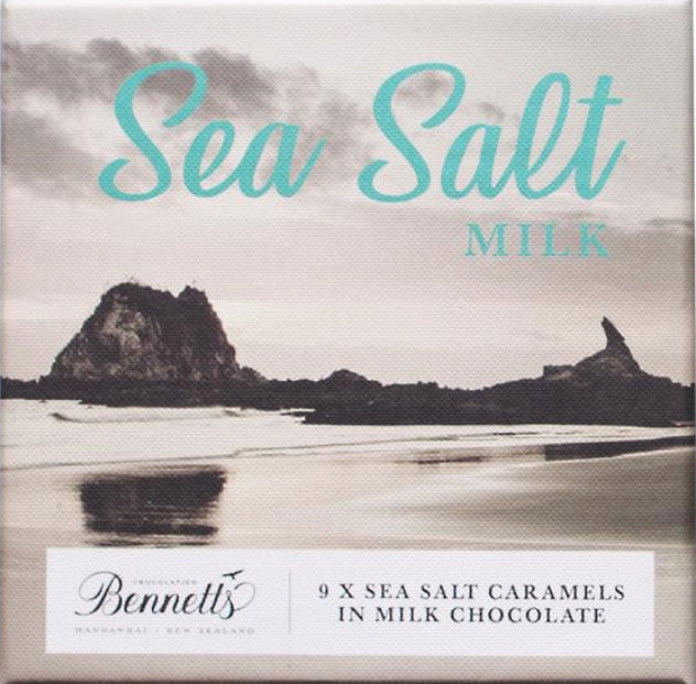 Sea Salt Caramels in Milk Chocolate