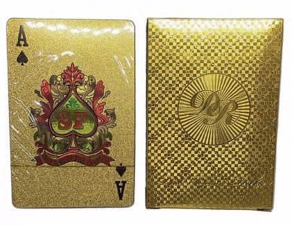 Dal Rossi Gold Playing Cards