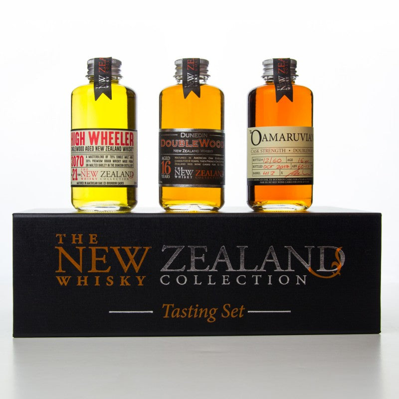 NZ Whisky Co. Tasting Box - Gift Saint