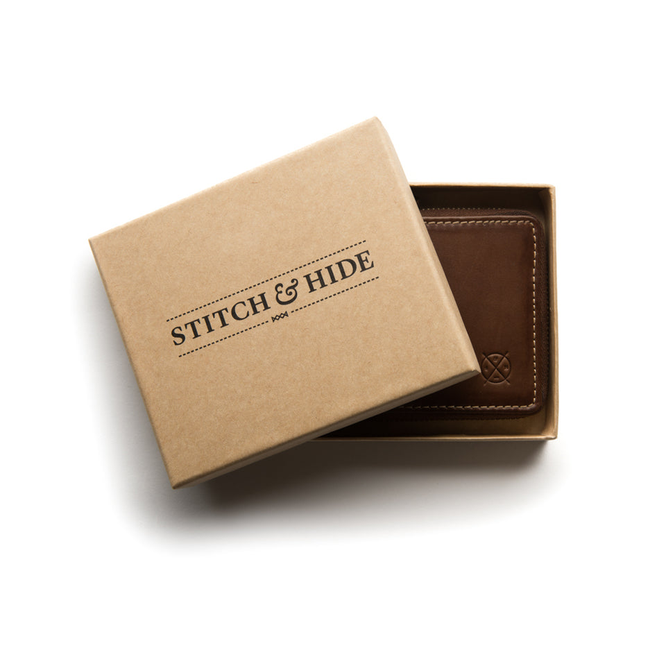 Stitch & Hide Men's Wallet - Gift Saint