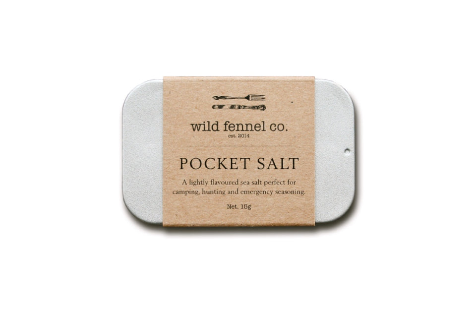 Wild Fennel Co. Pocket Salt Tin | Gift Saint