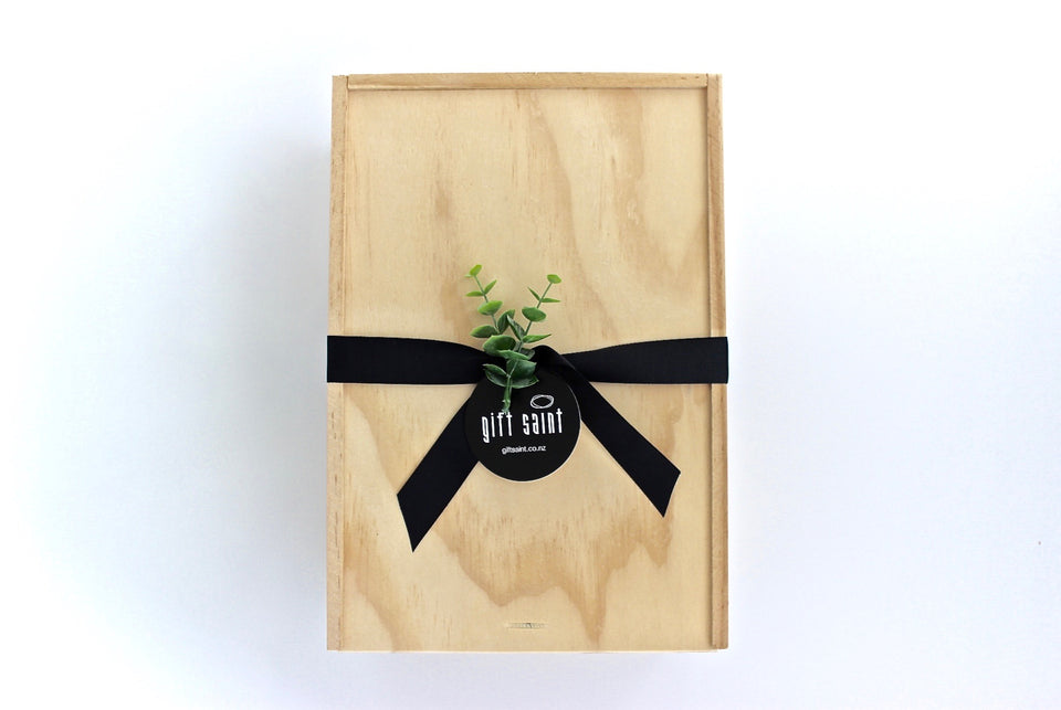 Wooden gift boxes | Gift Saint NZ