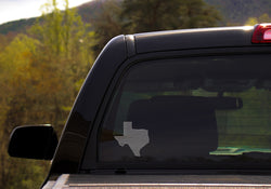 Texas Rhinestone Decal