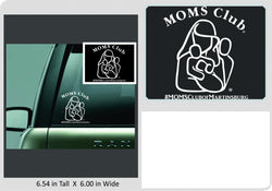 Mom's Club Decal