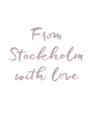 From Stockholm with love