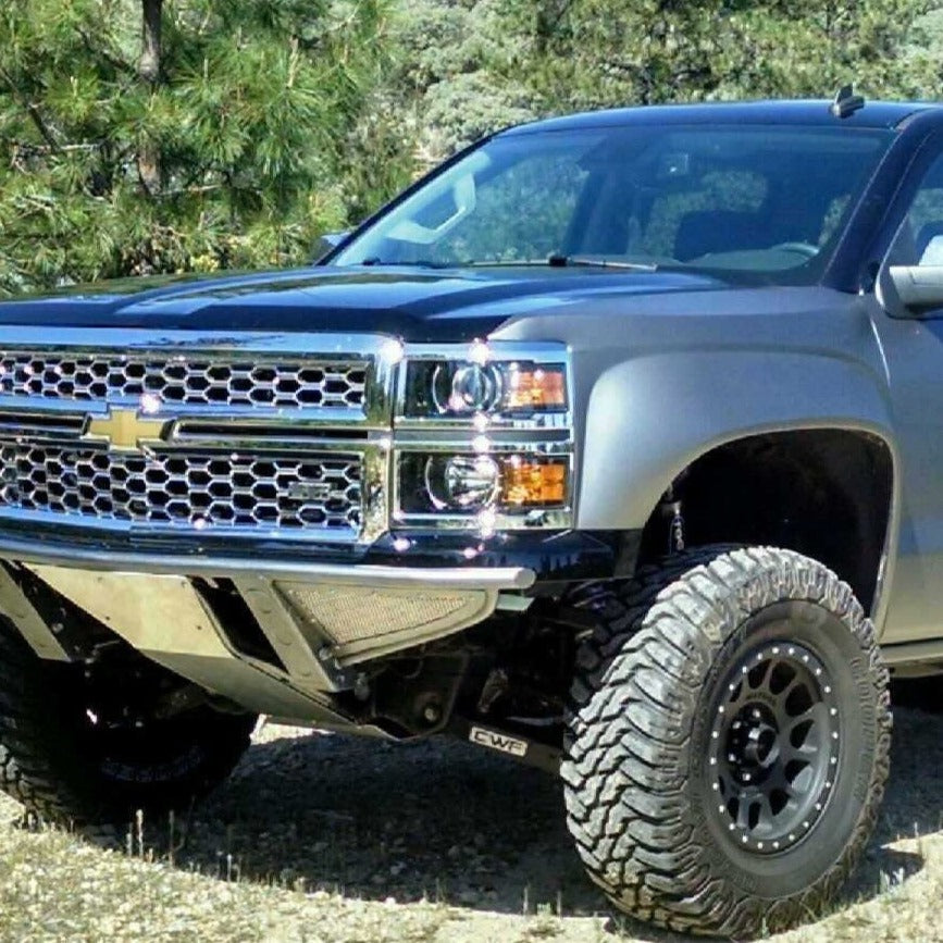 Front Fender Compatible with 2014-2018 Chevrolet Silverado 1500 Assembly Steel All Cab Types Driver Side