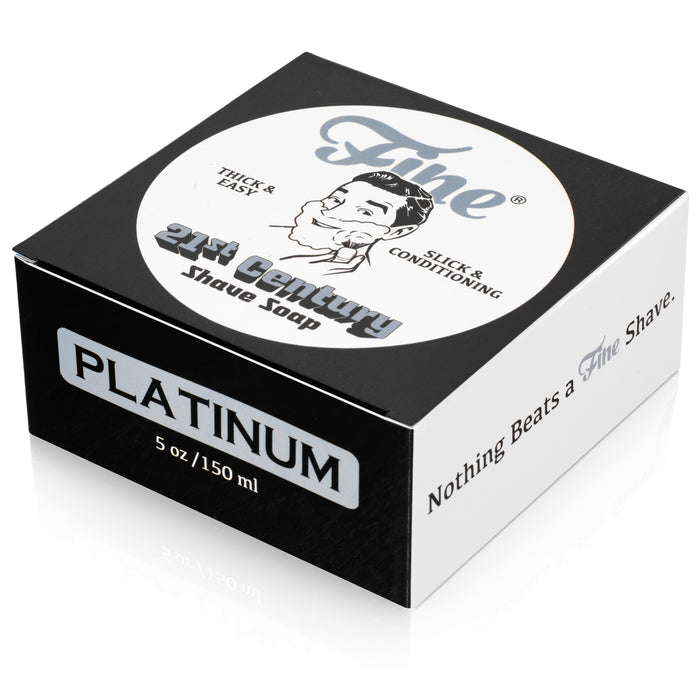 Fine Accoutrements Platinum Shaving Soap