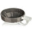 Fine Accoutrements Lather Bowl - Gray/White