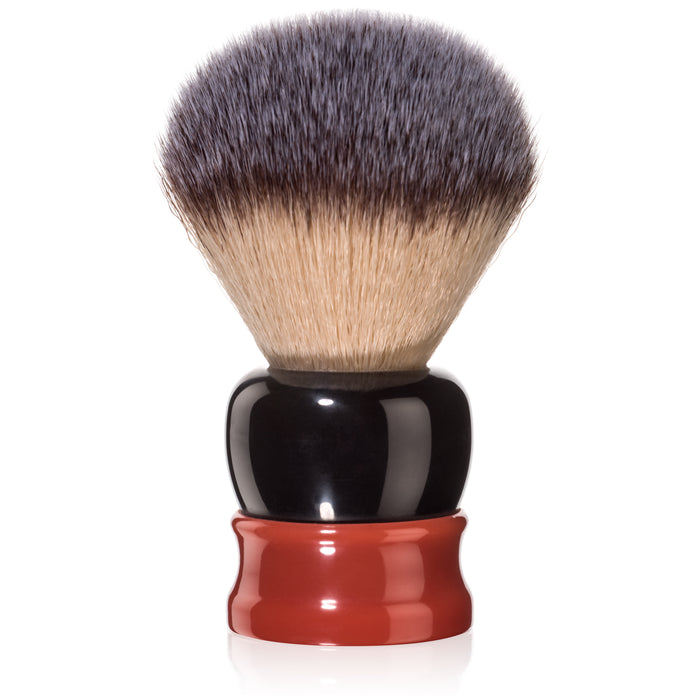 Fine Accoutrements Stout Shaving Brush - Orange/Brown
