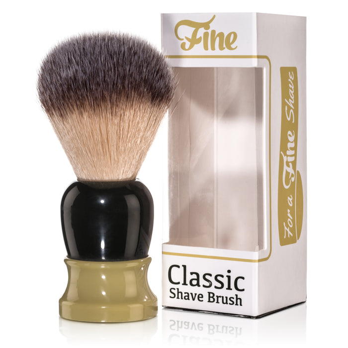 Fine Accoutrements Classic Shaving Brush - Green/Gold