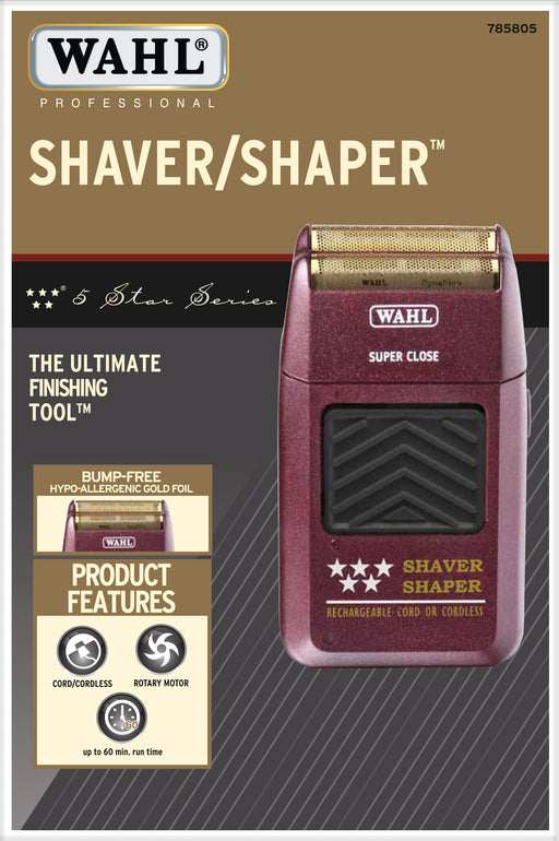 Wahl Professional 5-Star Series Rechargeable Shaver/Shaper