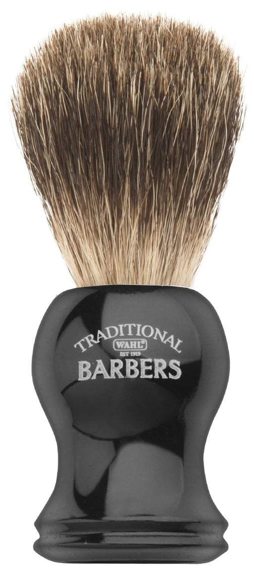WAHL Traditional Barbers Badger Shave Brush