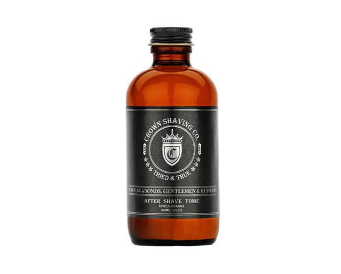 Crown Shaving After Shave Tonic - 4 Ounce Bottle, Aftershaves