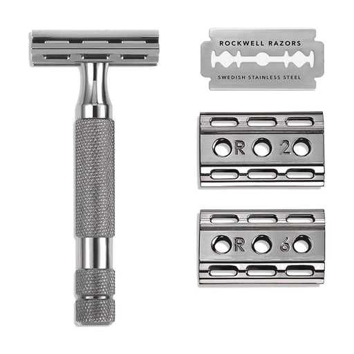 Rockwell Razors 6C Double Edge Razor - Gunmetal, Double Edge Safety Razors