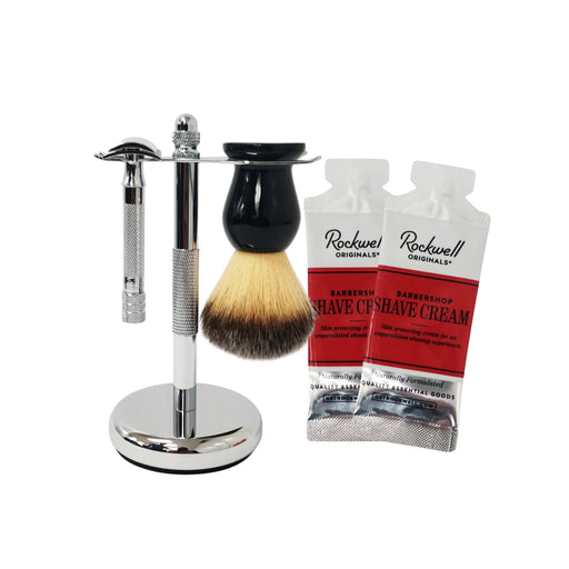 3pc SHAVING KIT WITH MERKUR 15C
