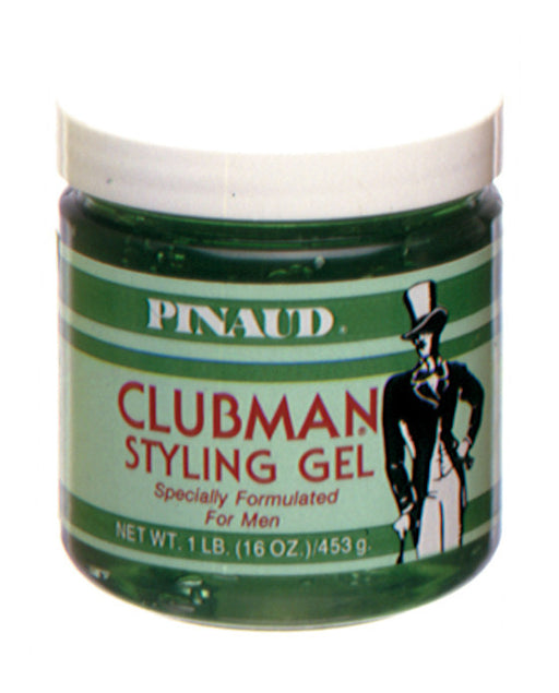 Clubman Regular Styling Gel 16 Ounce Jar, Pomade & Hair Products