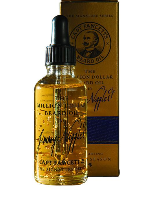 Captain Fawcett's The Million Dollar Beard Oil (50ml/1.7oz), Beard Care
