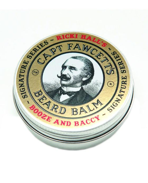 Captain Fawcett's Ricki Hall Booze & Baccy Beard Balm (60ml/2oz), Beard Care